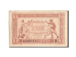 France, 1 Franc, 1917-1919 Army Treasury, 1917, 1917, KM:M2, TTB+, Fayette:VF3.2 - Treasury