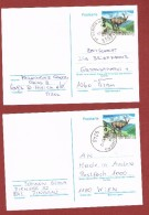 Postkarte 4 Exemplare Steinbock - 1945-.... 2de Republiek