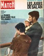 PARIS-MATCH N°686 - 2  Juin  1962 - General Issues