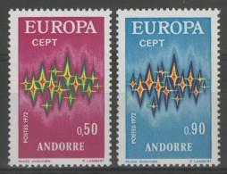 ANDORRE Français: N°217/218 ** (Europa)       - Cote 41€ -