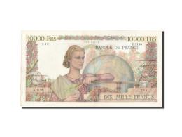 France, 10,000 Francs, 10 000 F 1945-1956 ''Génie Français'', 1951, 1951-02... - 1871-1952 Anciens Francs Circulés Au XXème