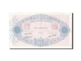 France, 500 Francs, 500 F 1888-1940 ''Bleu Et Rose'', 1932, 1932-11-03, KM:66... - 1871-1952 Anciens Francs Circulés Au XXème