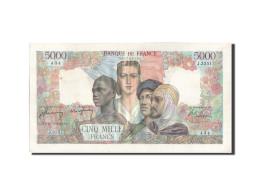 France, 5000 Francs, 5 000 F 1942-1947 ''Empire Français'', 1947, 1947-03-20... - 1871-1952 Circulated During XXth