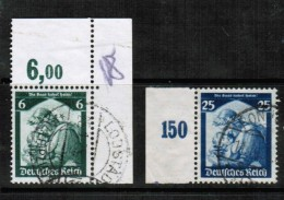 GERMANY  Scott # 448-51 VF USED W/tabs - Used Stamps