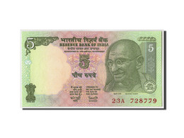 India, 5 Rupees, Non Daté (2009- ), KM:94a, NEUF - India