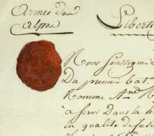 ARMEE DES ALPES - 1er BATAILLON DE L'AUDE - Vallée De La Stura / Piemont 1794 - Documents Historiques
