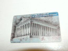 Ephesos Ephesus Temple Of Artemis Greece Greek 1995 Phonecard Hungary - Cultural