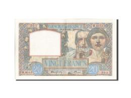 France, 20 Francs, 20 F 1939-1942 ''Science Et Travail'', 1941, 1941-05-08, K... - 1871-1952 Anciens Francs Circulés Au XXème