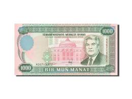 Turkmenistan, 1000 Manat, 1995-1998, KM:8, 1995, NEUF - Turkménistan