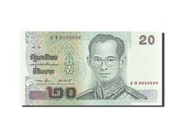 Thaïlande, 20 Baht, 2002, KM:109, Undated (2003), NEUF - Thailand