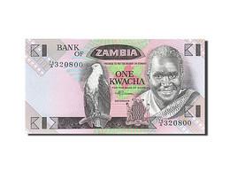 Zambie, 1 Kwacha, 1980-1986, KM:23b, Undated (1980-1988), NEUF - Zambie