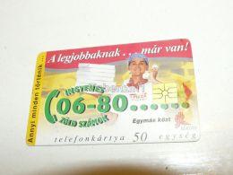 Pizza Order 1997 Phonecard Hungary - Food