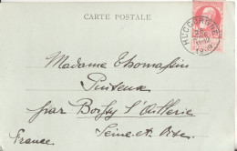 BELGIQUE Carte Lettre  Cachet Huccorgne - Sammlungen