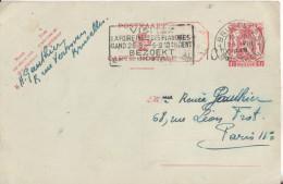 BELGIQUE Carte Lettre  Cachet  Bruxelles Et Gand - Belgique