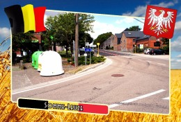 Postcard, Municipalities Of Belgium, Somme-Leuze, Walloon Region - Maps