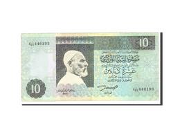 Libya, 10 Dinars, 2002, Undated, KM:66, TTB - Libya