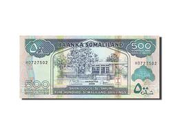 Somaliland, 500 Shillings = 500 Shilin, 1994, KM:6g, 2008, NEUF - Somalia