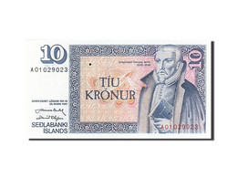 Iceland, 10 Kronur, 1981-1986, KM:48a, 1981, NEUF - Islande