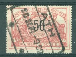 "BELGIE - OBP Nr TR 21 - Cachet  ""ATH"" - (ref. AD-4328) - Chemins De Fer"
