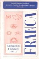 FRANCA - SELECCIONES FILATELICAS NRO. 10 RARISIME AGOTADA AÑO 1984 - 106 PAGINAS PARA EXPERTOS TO EXPERTS - Matasellos