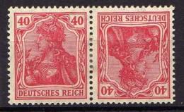 Deutsches Reich, 1920, Zusammendruck Mi K 3 * [130516VII] - Deutschland