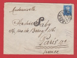 Enveloppe / De Budapest  / Pour Paris /  1936 / - Marcophilie