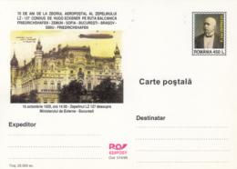 ZEPPELIN, LZ 127 OVER BUCHAREST, MAIL FLIGHT, PC STATIONERY, ENTIER POSTAL, 1999, ROMANIA - Zeppelins