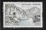 N° 1239   FRANCE - OBLITERE  -  VALLEE DE LA SIOULE  -  1960 - Used Stamps