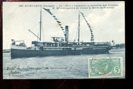 BTPYS Sénégal Saint Louis Le Bani Ramenant Le Ministre Des Colonies - Senegal