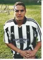 PHOTO 13X18  FOOTBALLEUR LAURENT ROBERT Dédicacée - NEWCASTLE UNITED FOOTBALL CLUB - EQUIPE GRANDE BRETAGNE - Calcio