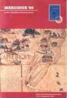 MERCOSUR 98 SALON FILATELICO INTERNACIONAL CENTRO CULTURAL RECOLETA BUENOS AIRES AGOSTO 1998 48 PAGINAS - Exposiciones Filatélicas