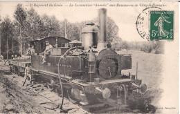 51 - VITRY-LE-FRANCOIS- Locomotive AUMALE  -5 Eme Regiment De Génie - France