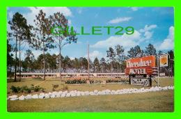 WAYCROSS, GA - CHEROKEE MOTEL - TRAVEL IN 1957 - DEXTER PRESS - - United States