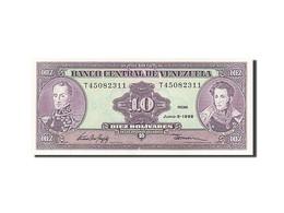 Venezuela, 10 Bolívares, 1981-1988, KM:61d, 1995-06-05, NEUF - Venezuela