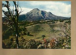 Jolie CP Martinique Des Mornes Vue Sur La Montagne Pelée - Ed Iris Mexichrome 6634 - Cp Pas écrite - Martinique
