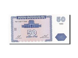 Armenia, 50 Dram, 1993-1995, 1993, KM:35, NEUF - Arménie