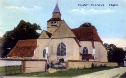 CP DEPT  10  .....   DROUPT ST BASLE - France