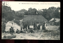 BTPYS Congo, Brazaville Arrivée D'une Caravane Au D Joué - French Congo - Other
