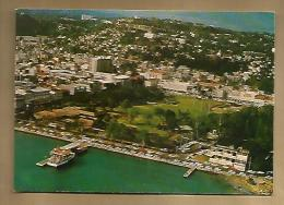 Jolie CP Martinique Fort De France Vue Aérienne De La Place De La Savanne - Ed Hachette 7652 - Cp Pas écrite - Fort De France