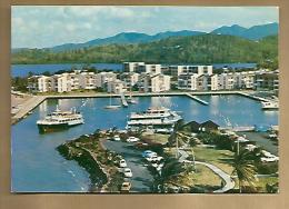 Jolie CP Martinique Hôtel De La Marina Pointe Du Bout Trois Filets - Ed Iris - Port Bateaux ... - Cp Pas écrite - Martinique
