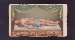 SANTINO HOLY CARD IMAGE PIEUSE ANDACHTSBILD FUSTELLATO _ CRISTO GN 218 GESU' - Religión & Esoterismo