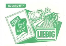 Buvard LIEBIG Buvard N°7 Potage Des 4 Saisons Pour 4 Personnes - Sopas & Salsas