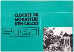 Cloches Du Monastere D En Calcat Cloche Et De Ligugé Et Saint Wandrille Vinyle  33t - Vinyles