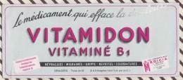 206 BUVARD VITAMIDON    9 X 21 CM - Chemist's