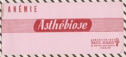 207 BUVARD ASTHEBIOSE PAUL HARDY   9 X 21 CM - Chemist's