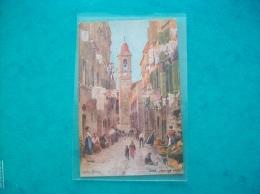 Carte Postale Ancienne: Illustration De Pierre Combaz- Nice, La Vieille Ville - Combaz