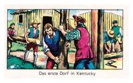 KAUGUMMI SAMMELBILDER Indianer, Cowboys , Pirates, N. 33 - LA GIULIA GORIZIA BUBBLE GUM About 1970 - Alte Papiere