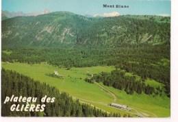 ==  74 - Plateau Des GLIERES : Monument ( V De La Victoire ) De La Résistance D'Emile Gilioli - - France