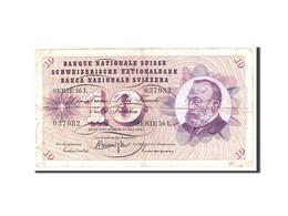 Suisse, 10 Franken, 1968, KM:45n, 1968-05-15, TB - Switzerland