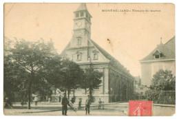 11166  CPA  MONTBELIARD  : Temple Saint Martin - Montbéliard
